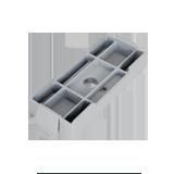 clevis U-strap mount adaptor