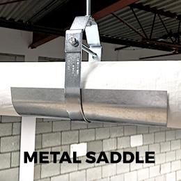metal saddle