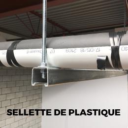 plastic saddle