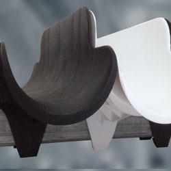 Insuguard insulation color match pipe saddle