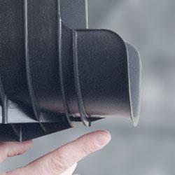 Insuguard sliding lip design insulation damage saddle