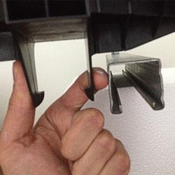 Insuguard tool free fast installation pipe saddle