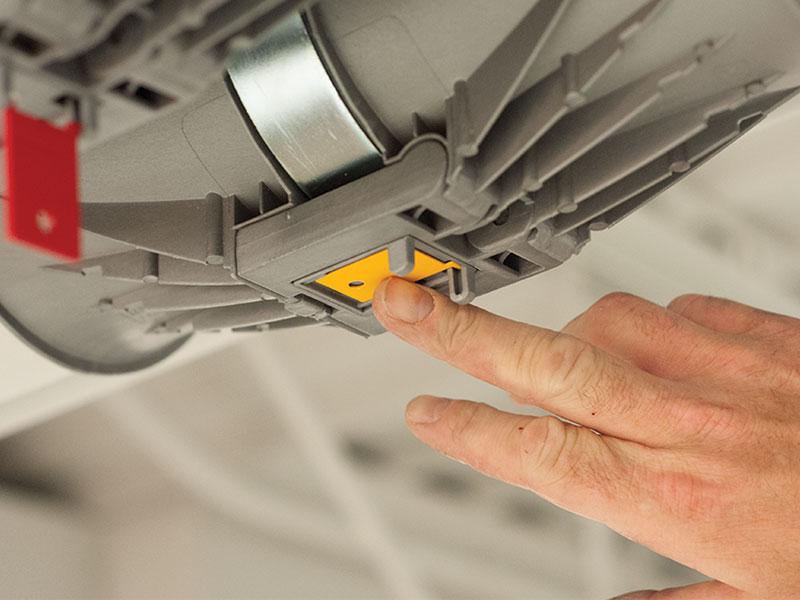 pipe refrigeration shock detector