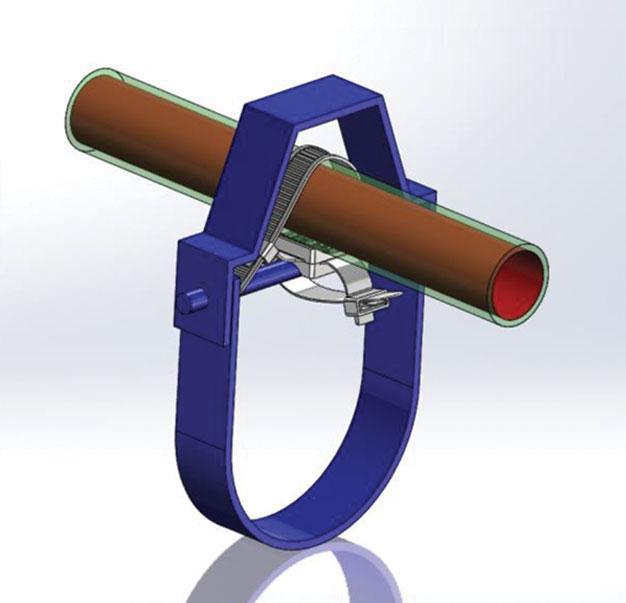 pipe shield insuclip pipe fastener