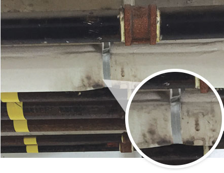 Condensing Mold growth problem